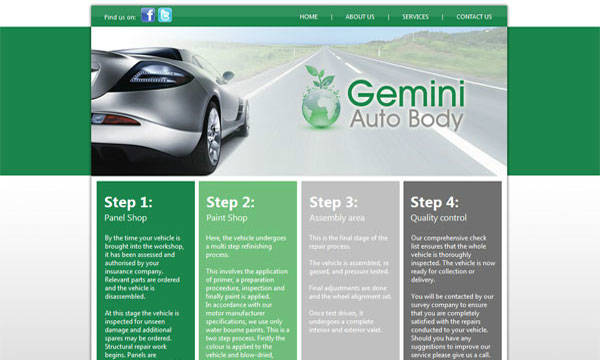 Search Engine Optimization - Gemini Auto Body