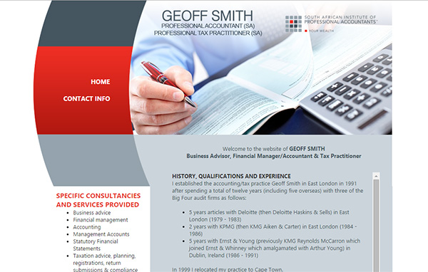 Affordable web design - Geoff Smith