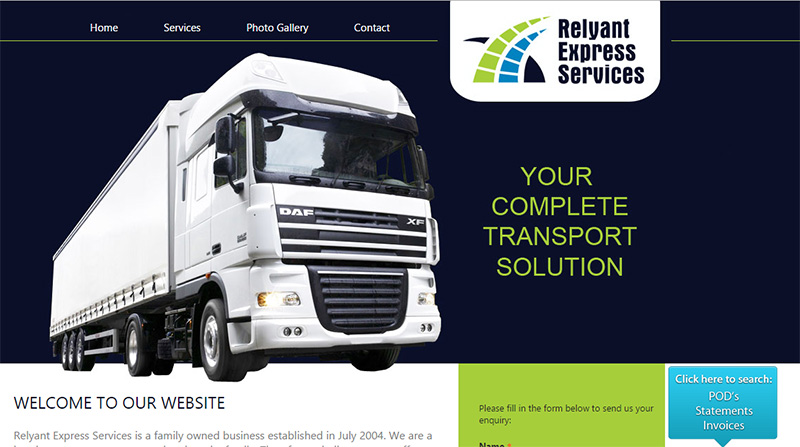 Domain Hosting - Relyant Express